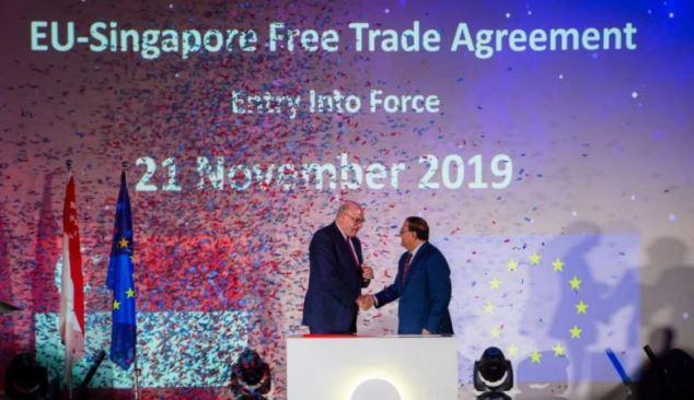 Acordo comercial UE-Singapura